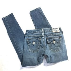 True Religion Legging jeans sz 26